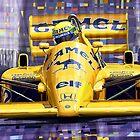 Lotus 99T SPA 1987 Ayrton Senna by Yuriy Shevchuk