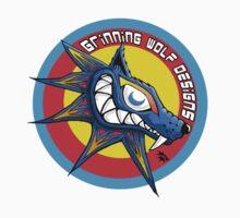 Grinning Wolf Logo by CerberusAzdin
