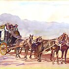 STAGECOACH EXPRESS by Robert Benjamin