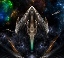 Flight Of The Conexion XJ7X1 by xzendor7