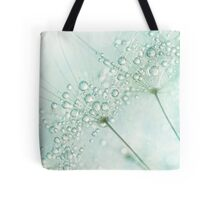 Baby Blue Sparkles Tote Bag