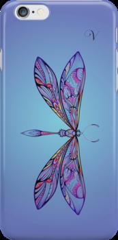 dragonfly for V by sabrina card