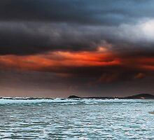Day Break South Beach Kingscliff by Ron Finkel