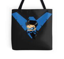 Chibi Nightwing Tote Bag