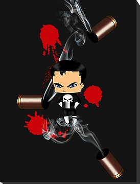 Chibi Punisher by artwaste