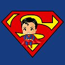 Chibi Superman by artwaste