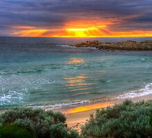 Sunrise at Boat Harbour by BigAndRed