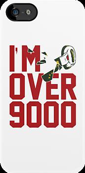 "DragonBall ""I'm Over 9000!"" by bammydfbb"