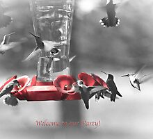 Welome to our Party! by Sherry Hallemeier