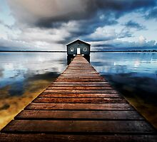 Boatshed by Sue-ann Tilby Photography