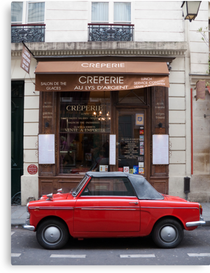 Autobianchi in Paris by Flo Smith