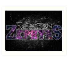 Hoboken Zephyrs Art Print