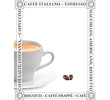 Cafe Posters Photographic Print