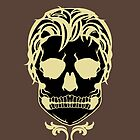 Skull Logo (Black & Gold) by AlliVanes