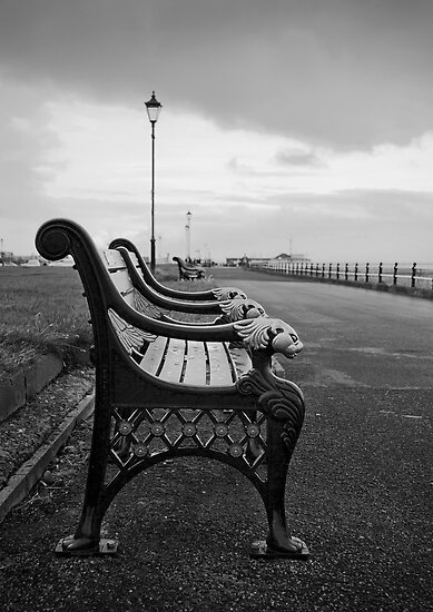 Seafront Bench by Peter Stone
