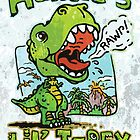 Auntie&#x27;s Little T-Rex by MudgeStudios