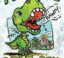 Auntie's Little T-Rex by MudgeStudios