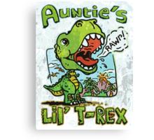 Auntie's Little T-Rex Canvas Print