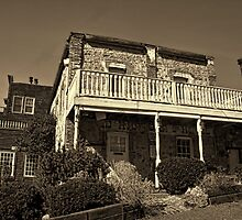 Gold Hill Bar and Hotel 1859 by thecameraman