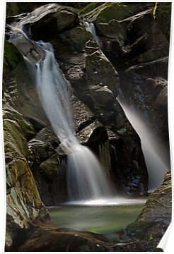 Honey Hollow - Big Falls by Stephen Beattie