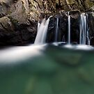 Honey Hollow - Swimming Hole by Stephen Beattie