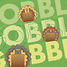 Wobble Gobblers by mustbethursday