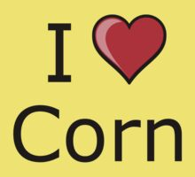 i love corn on Thanksgiving Turkey day  by tia knight