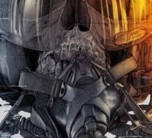 battlefield death pilot Sticker