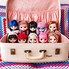 A suitcase of Blythes by Zoe Power