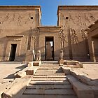 Philae temple by Sam Tabone