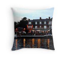 Wherry, Oulton Broad, Suffolk Throw Pillow