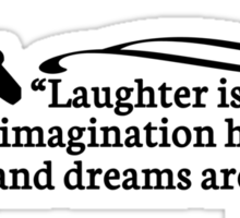 Walt Disney Quote Sticker