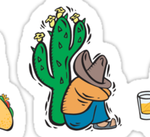 """Mexican """"Life's Too Short Not To Be Mexican"""" Sticker"""