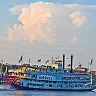 Mississippi Ferry by Rob Atkinson