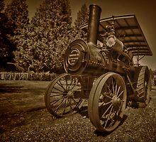 Old Thresher by Steve Walser