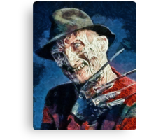 Freddy Kruegar Canvas Print