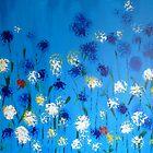 Kornfeld Blumen by TrixiJahn