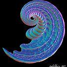 """Blue Curl"" by Patrice Baldwin"