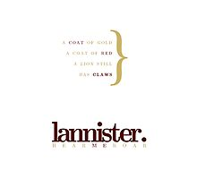 House Lannister by bericed