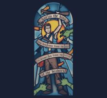 Stained Ash Window (TeeFury Edition) by nikholmes