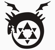 FullMetal Alchemist Uroboro [black] by Robin Kenobi