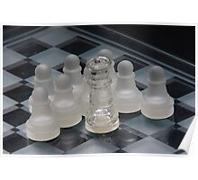 Chess Attraction Poster