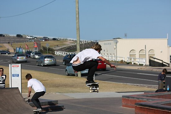 Flying High! - Ollie On The Street Course by reflector
