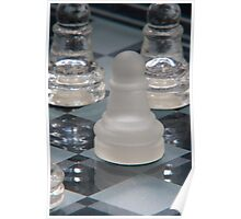 Chess Pawn Poster