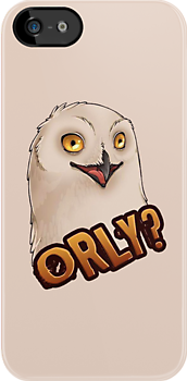 ORLY - OH REALLY? Sarcastic Owl by mioneste
