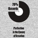 75% Records White Label by geekmorris