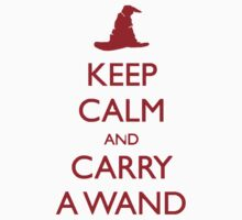 KEEP CALM AND CARRY A WAND by Shahram Saadat