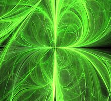 Swirling Four Leaf Clover by pjwuebker
