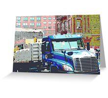 Bravo Truck, Harlem Greeting Card