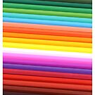 Rainbow of Colored Pencils by pjwuebker